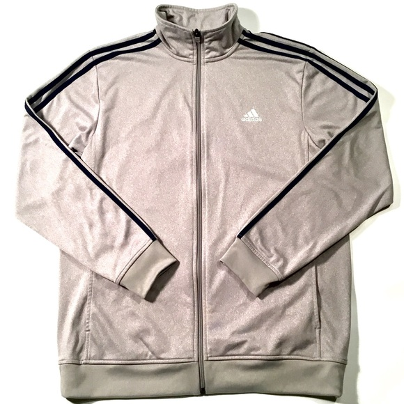 604c64093bd57 NWT MENS ADIDAS ESSENTIALS TRACK JACKET